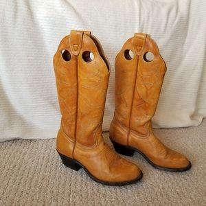 Vintage Boulet Western Boots